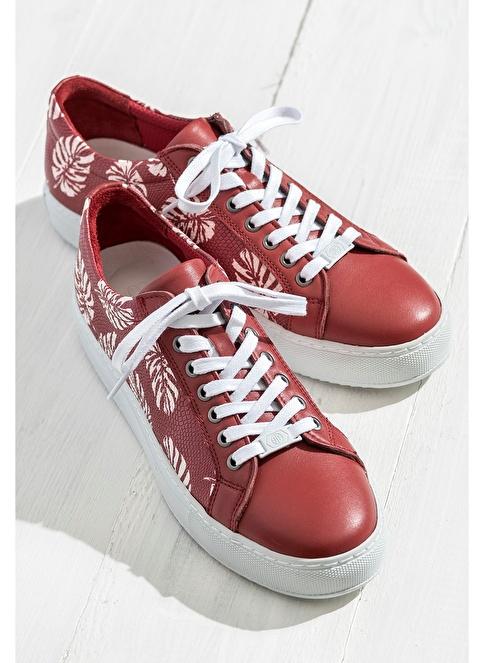 Elle Sneakers Ayakkabı Kırmızı